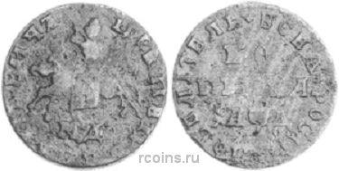 1 копейка 1704 года -