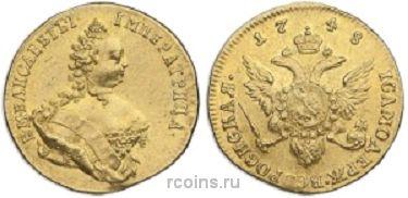 1 червонец 1748 года
