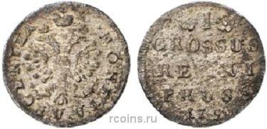 1 грош 1759 года -