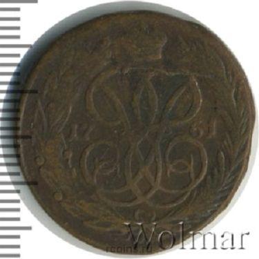 1 копейка 1761 года -