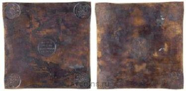 1 рубль 1725 года - ЕКАТЕРIНЬБУРХЬ
