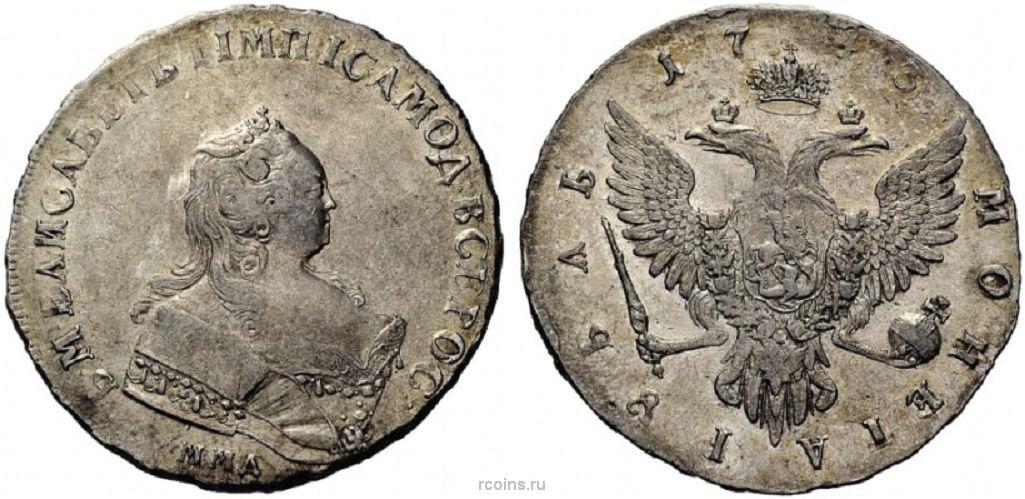 Монеты 1742 года цена 1 копейка 1981 года