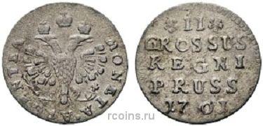 2 гроша 1761 года -