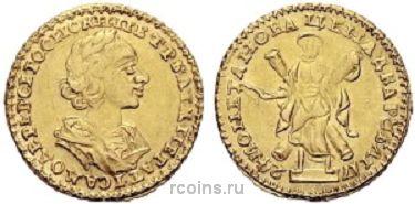 2 рубля 1724 года -