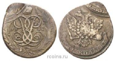 5 копеек 1758 года -