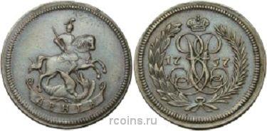Денга 1757 года - НОВОДЕЛ