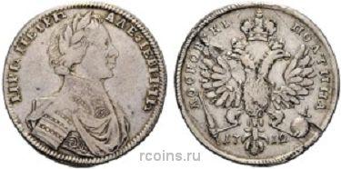Полтина 1712 года