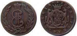 1 копейка 1778 года -