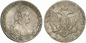1 рубль 1777 года -