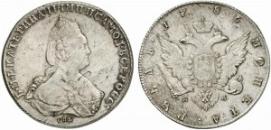 1 рубль 1786 года -