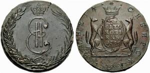10 копеек 1766 года