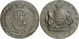 10 копеек 1768 года -