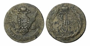 5 копеек 1766 года
