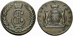 5 копеек 1768 года