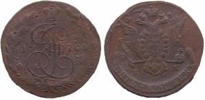 5 копеек 1770 года - Орел образца 1770 - 1777 гг..