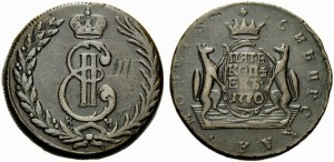 5 копеек 1770 года -