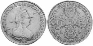 5 рублей 1789 года -
