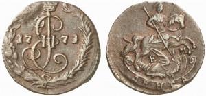 Денга 1771 года -
