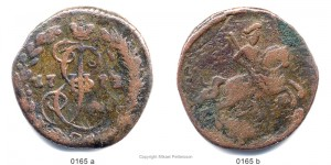 Денга 1773 года