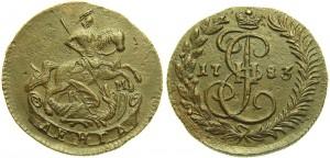 Денга 1783 года -