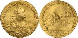 Жетон 1766 года