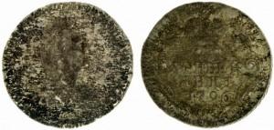 Гривенник 1796 года -