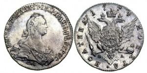 Полтина 1774 года