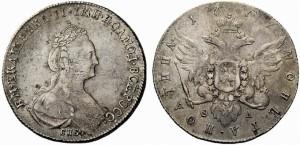 Полтина 1777 года -
