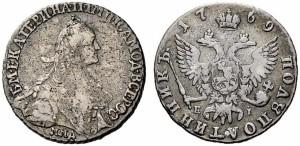 Полуполтинник 1769 года -
