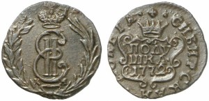 Полушка 1772 года
