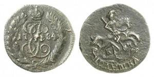 Полушка 1784 года