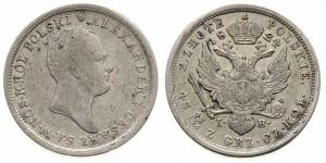 10 злотых 1820 года - Серебро