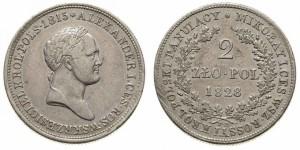 2 злотых 1828 года