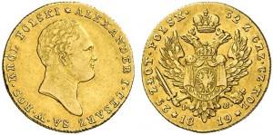 25 злотых 1819 года - Золото