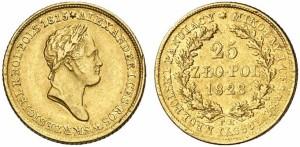 25 злотых 1828 года - Золото