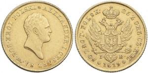 50 злотых 1819 года - Малая голова. Золото