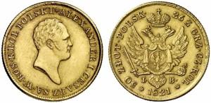 50 злотых 1821 года