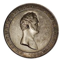 1 рубль 1810 года - МЕДАЛЬНЫЙ ПОРТРЕТ НОВОДЕЛ. Серебро
