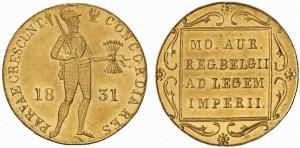 Дукат 1831 года