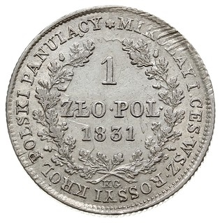 1 злотый 1831 года