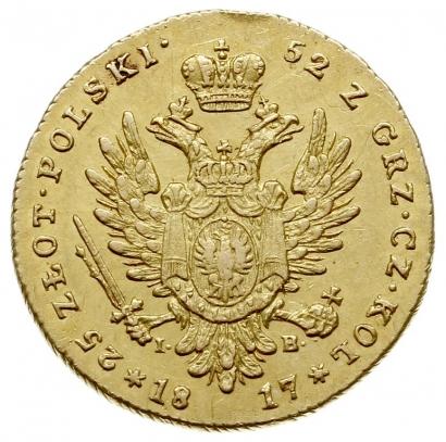 25 злотых 1817 года
