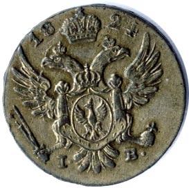 5 грошей 1824 года