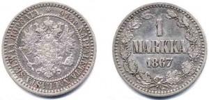 1 марка 1867 года