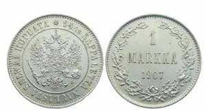 1 марка 1907 года