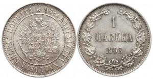 1 марка 1908 года