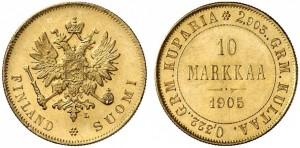 10 марок 1905 года