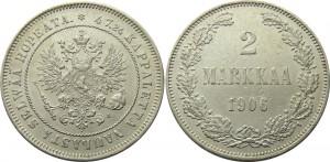 2 марки 1906 года - Серебро