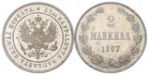 2 марки 1907 года