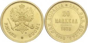 20 марок 1878 года