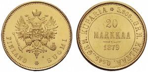 20 марок 1879 года